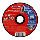 "DIABLO - STEEL DEMON 4‑1/2"" Metal Cut Off Disc ‑ Thin Kerf"