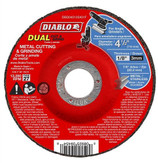 "Item #DBD045125X01F DIABLO 4‑1/2"" Metal Dual Cut & Grind Disc ‑ Type 27"