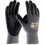 Memphis Glove MaxiFlex Seamless Knott Nylon/Lycra Gloves Large MG34-874-L