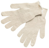 Memphis Glove Economy Natural Cotton/Polyester Size LARGE #MG9638L