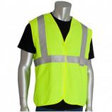 Safety Vest Yellow/Lime -  Size XXXL CLEARANCE SALE # PIP305-2000XXXL