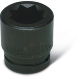 """Wright Tool 3/4"""" Drive 8 Point Double Square Impact Railroad Socket - CLEARANCE ITEM"""