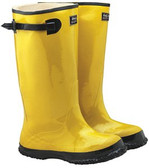 """Size 11 Yellow 17"""" Slush Over Boots (Pair) - CLEARANCE ITEM"""
