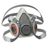 3M 6100 Reusable Half Mask Respirator, Small, 1 Each - CLEARANCE ITEM