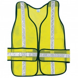 River City CHEV2L Non ANSI Breakaway Chevron Safety Vest - Yellow/Lime - CLEARANCE SALE