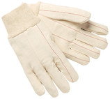 Memphis 9018C - Double Palm, Nap-In, Knit Wrist, 100% Cotton - 240/CASE - CLEARANCE SALE
