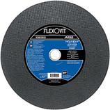 FLEXOVIT 14 x1/8 x 1 CUTOFF WHEEL FOR HIGH SPEED GAS & ELECTRIC SAWS A24/30SB F5687