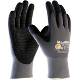 PIP 34-844 MaxiFlex Endurance Seamless Knit Nylon Gloves with Nitrile Coated Palm & Fingers - Micro Dot Palm - Medium - CLEARANCE SALE