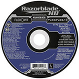 "Flexovit - 7"" X 3/32 X 5/8-11 RAZORBLADE TYPE 27 8,600 RPM A24/30T - A4175H - CLEARANCE SALE"