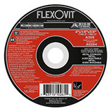 "Flexovit 4"" x 1/8"" x 5/8""  Depressed Center Combination Wheel A30S Type 27 - A0264 - CLEARANCE SALE"