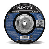 "FLEXOVIT 7"" X 1/4"" X 5/8-11 HEAVY DUTY A24/30T METAL, STAINLESS DEPRESSED CENTER GRINDING DISC/WHEEL A5302H"