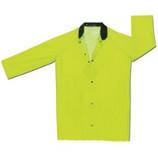 Raincity Rainwear - Raincoat Classic Plus, Lime Green, Corduroy Collar Size: Medium - CLEARANCE SALE