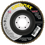 "FLEXOVIT Z4565F - Grinding, Blending, Finishing Flap Disc - 4-1/2"" x 7/8"" Super Flap Disc A60 Type 29 - CLEARANCE SALE"