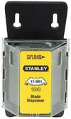 Stanley Hook Blades w/ Dispenser 100/pk (linoleum) - CLEARANCE SALE