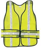 River City CHEV2L - Tear Away MES Safety Vest w/ Reflective Stripe - CLEARANCE SALE