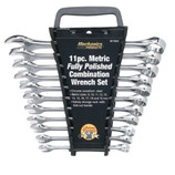 11 PIECE COMBINATION WRENCH SET METRIC W1062