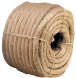 Sisal Ropes, 3/8 in x 732 ft, 30 lb Coil