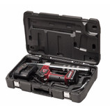 ALEMITE 596-B1 Battery-Powered Grease Gun, Two Batteries, 110V/60 Hz, 10,000 psi, 6.0oz/min High Flow Rate, 596 Series