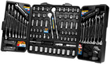 PERFORMANCE TOOL 125 PIECE MECHANIC'S TOOL SET W1525