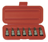 "WRIGHT 7 PIECE 3/8"" DRIVE HEX BIT SET  1/8""-3/8"" 305"