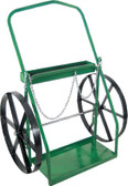 "ANTHONY CYLINDER CART TRUCK W/24"" STEEL WHEELS - 2-24"
