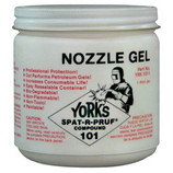 YORK'S NOZZLE DIP GEL SPAT-R-PRUF COMPOUND 1 PINT JAR 101