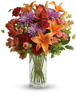 Fall Brights bouquet TELEFLORA