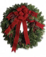 "24"" Evergreen Chistmas Wreath"