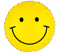 Smiley Mylar balloon