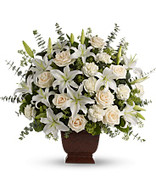 Loving lilies and Roses by Teleflora