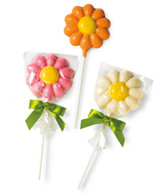 Daisy Lollipop White Chocolate