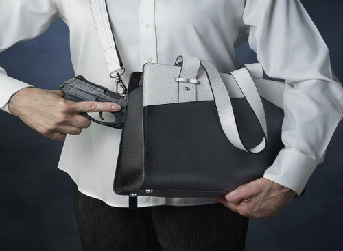 Crossbody concealed carry at its finest