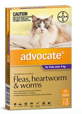 Advocate 3 Month Supply for Cats over 4kg