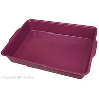 Litter Tray Rectangle (44Lx31Wx7cmH)
