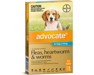 Advocate 6 Month Supply for Dogs 4-10kg
