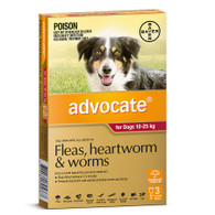 Advocate 3 Month Supply for Dogs 10-25kg