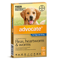 Advocate 6 Month Supply for Dogs over 25kg