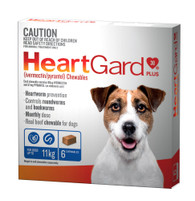 Heart Gard 6 month Supply for Dogs up to 11kg