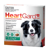 Heart Gard 6 month Supply for Dogs up to 12-22kg
