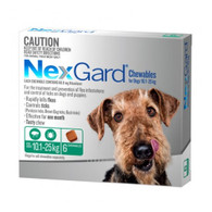 NexGard 3 Month Supply for Dogs 10.1-25kg