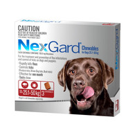 NexGard 3 Month Supply for Dogs 25.1-50kg