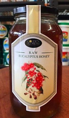 Raw Eucalyptus Honey 1Kg