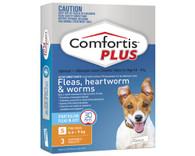 Comfortis Plus 3 Chewable Tablets For 4.6-9kg