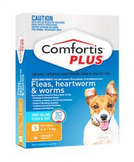 Comfortis Plus 6 Chewable Tablets For 4.6-9kg