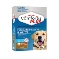 Comfortis Plus 3 Chewable Tablets For 27.1-54kg