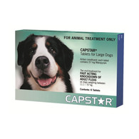 Capstar Flea Tablets 6 Pack for Dogs 11.1-57kg