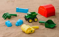 John Deere 7 Piece Sand Tool Set for Kids