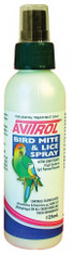 Findos Avitrol Bird Mite Lice Spray 125ml