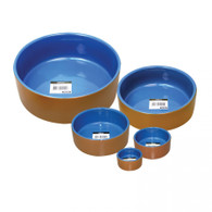 PET ONE BOWEL TERRACOTTA BLUE 8.7CM 185ML