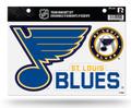 Rico NHL St. Louis Blues Team Magnet Sheet Sports Fan Home Decor, Multicolor, One Size